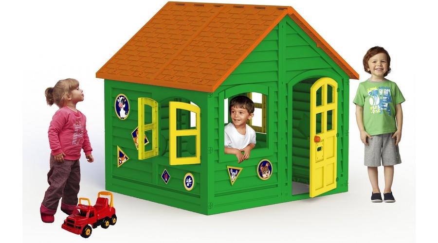 домик детский пластиковый