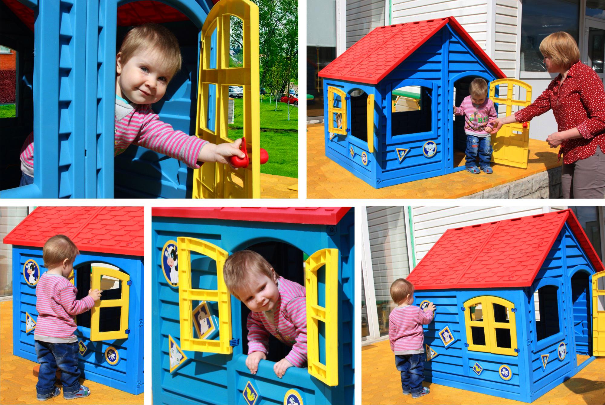детский домик - лучший подарок