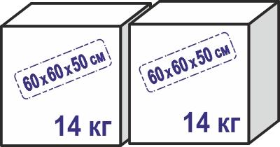 Домик GB7,5 S на платформе 20 х 28